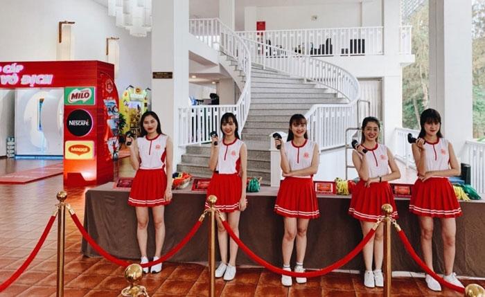 Giải pháp checkin mã vạch Nestle tại Đà Nẵng